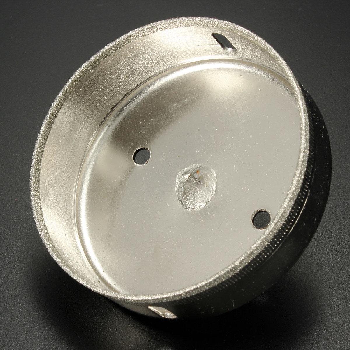 6mm-95mm Diamond Coated Drill Bit Hole Saw Kit Glass Cutter Tip