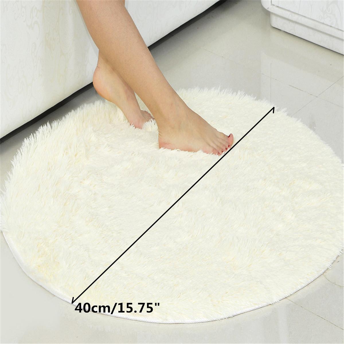 Tapis Magique Salle De Bain Gifi ~ rond tapis salle de bain chambre peluche antid rapant mat absorbant