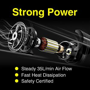 Audew Portable Digital Air Compressor Pump