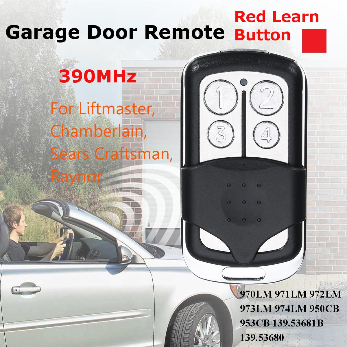 MITTO 4 B RCB04 Bouton 433 MHz télécommande émetteur Garage Gate Opener