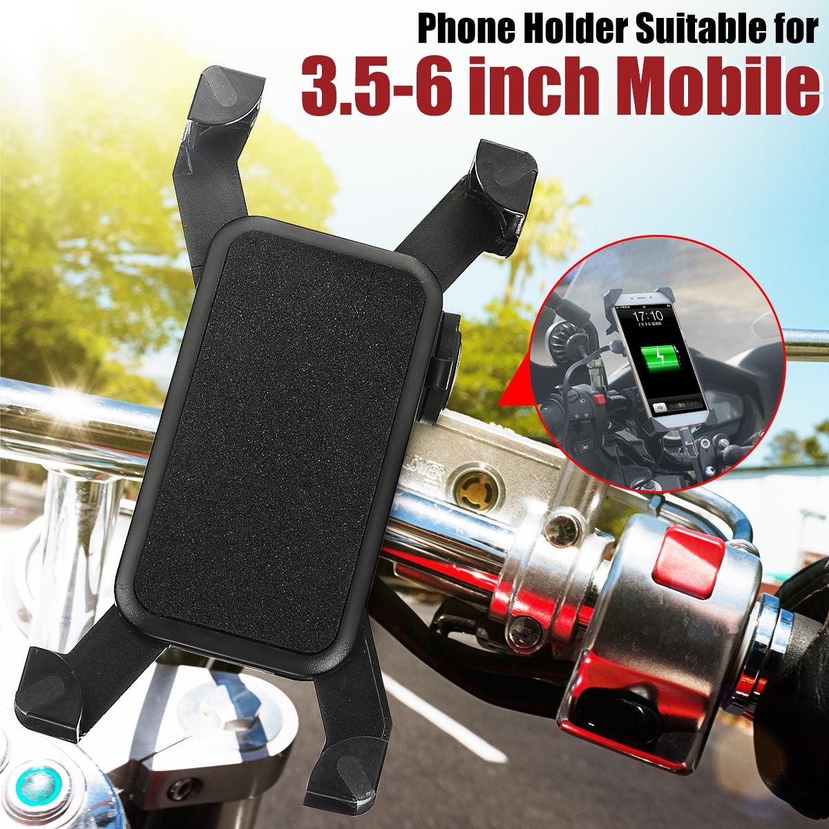 Housse de Protection de GPS 3,5-4,3 Pouces Support Guidon de Moto Support GPS pour Moto//V/élo//Scooter//VTT