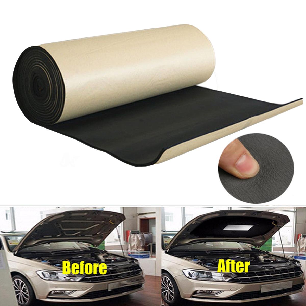 100*200cm mousse acoustique voiture auto-adhésif insonorisation isolation 10mm