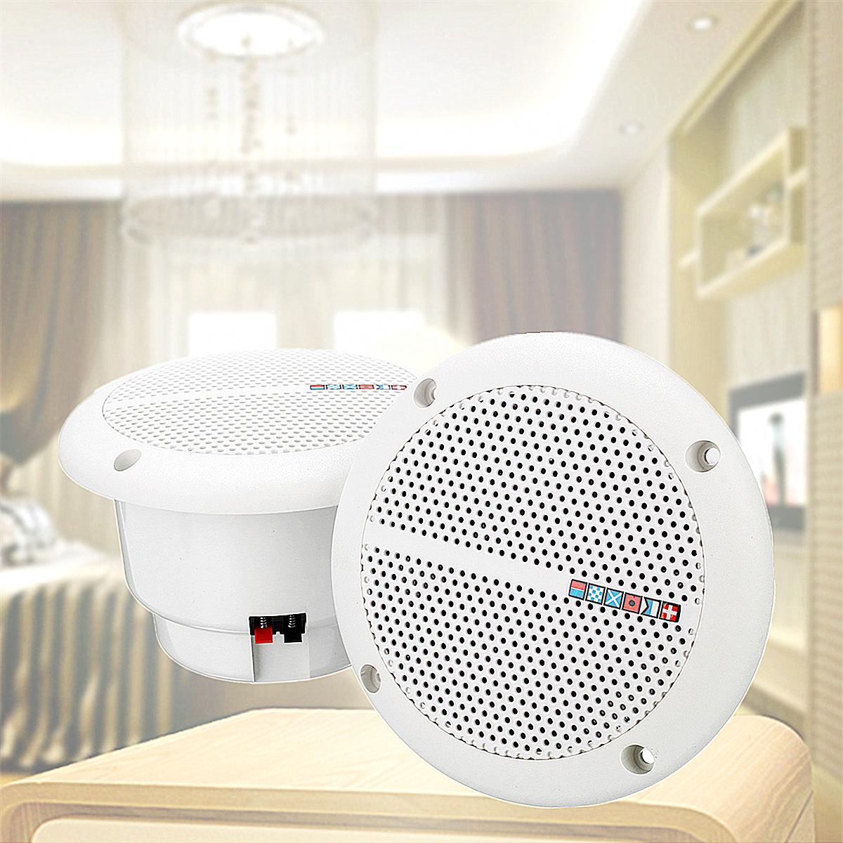 tempsa 1 paire etanche haut parleur pr bateau marine plafond cuisine salle de bain. Black Bedroom Furniture Sets. Home Design Ideas