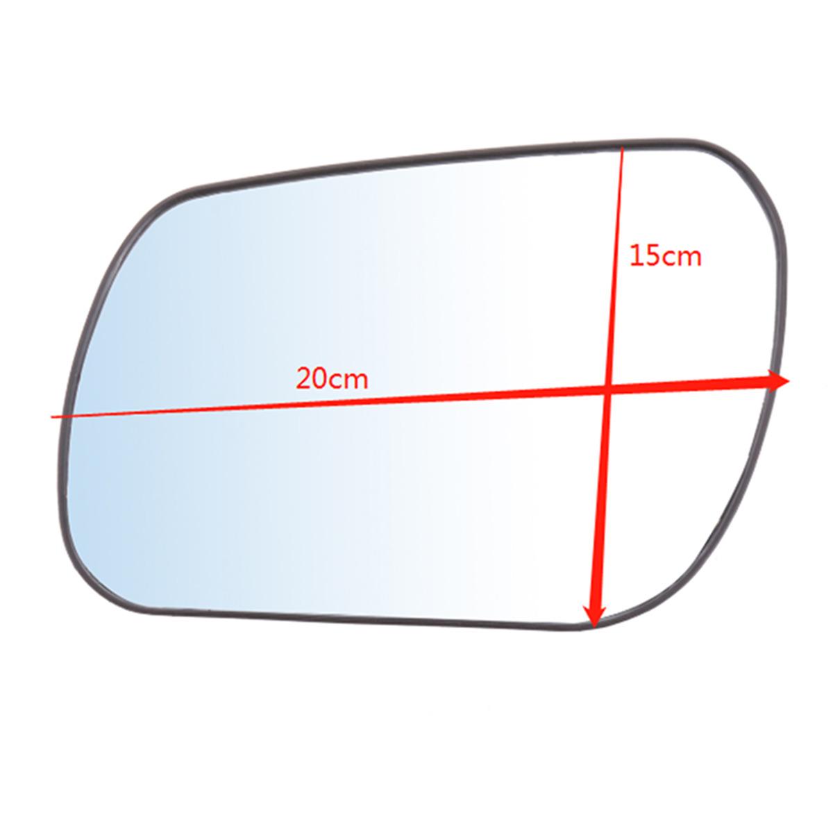 Main droite côté conducteur pour Mazda RX-8 03-09 Aile Miroir Verre Angle Large