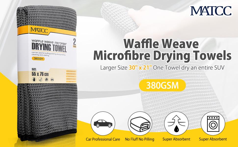 Waffle Weave Microfibre Cloths