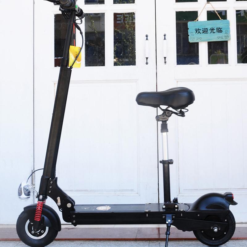 Регулируемое по высоте сиденье Siaomi M365 с электрическим скутером, складывающимся из седла
