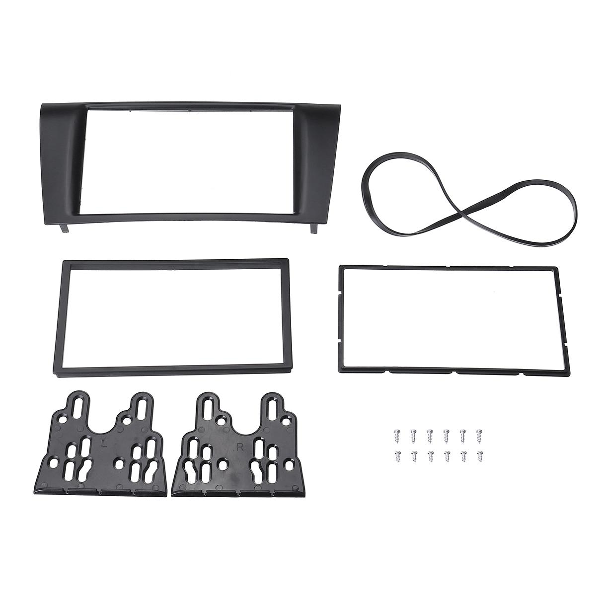 Pour Mazda 2 DE Voiture Radio Ouverture Installation Cadre Double DIN 2-din Noir