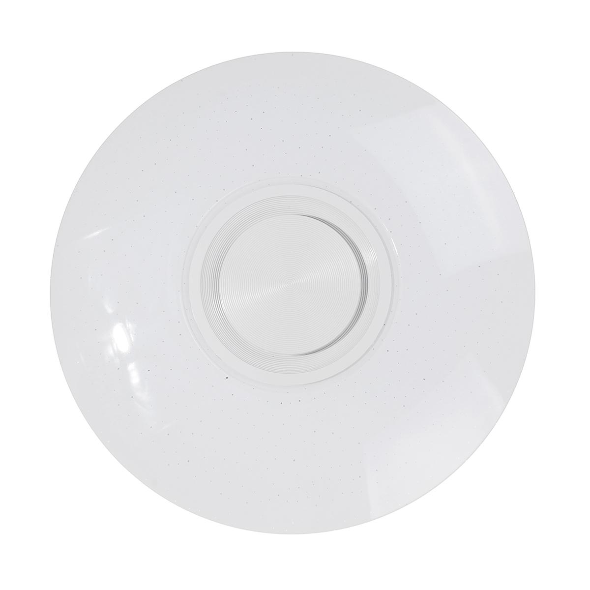 60W RGB Plafonnier musique bluetooth avec télécommande