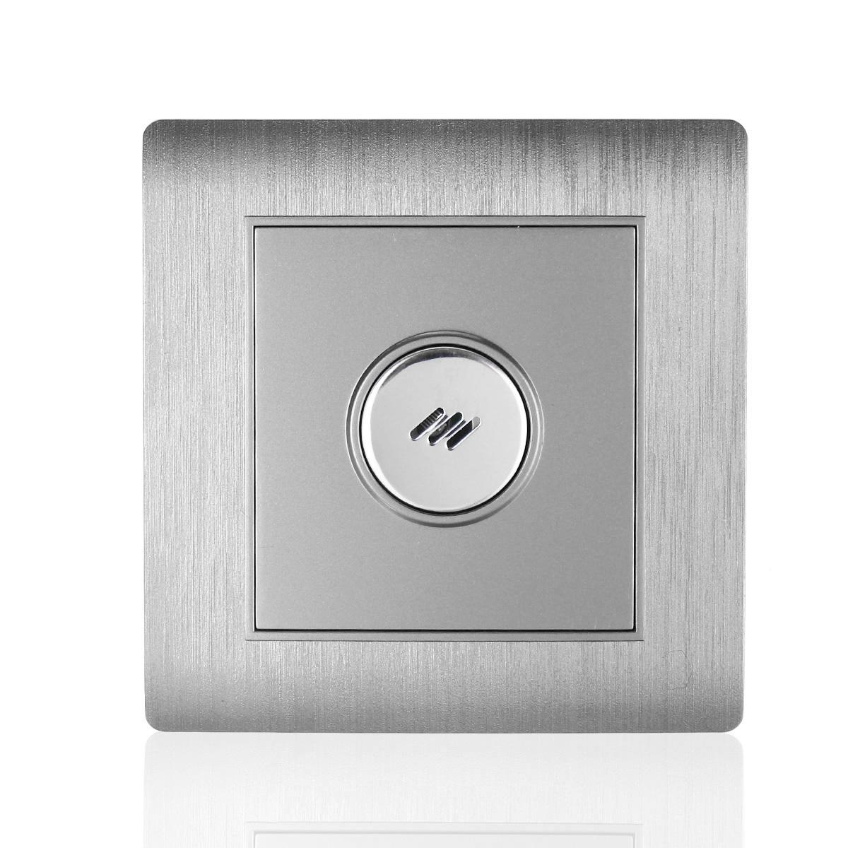 Умный дом Настенный смарт выключатель с голосовым управлением и датчиком света (Фото 5)