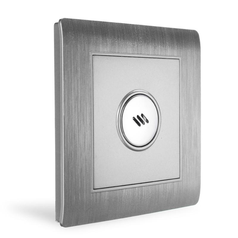 Настенный смарт выключатель с голосовым управлением и датчиком света
