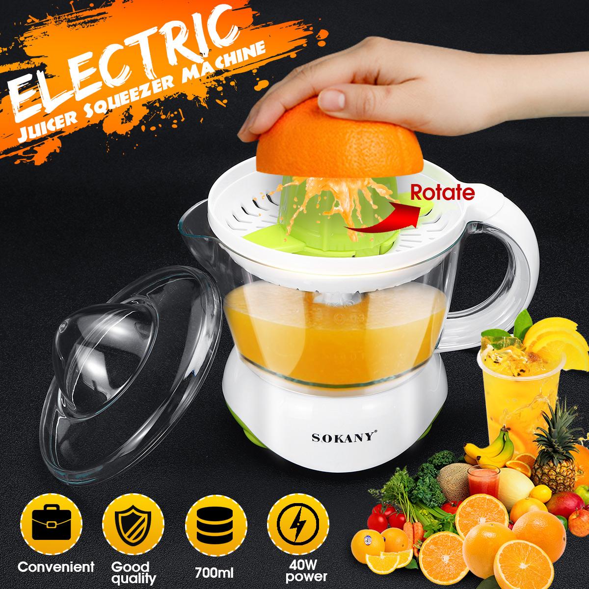 30 W 0.8 l Electric Agrumes Juicer Orange Jus de citron extracteur presse