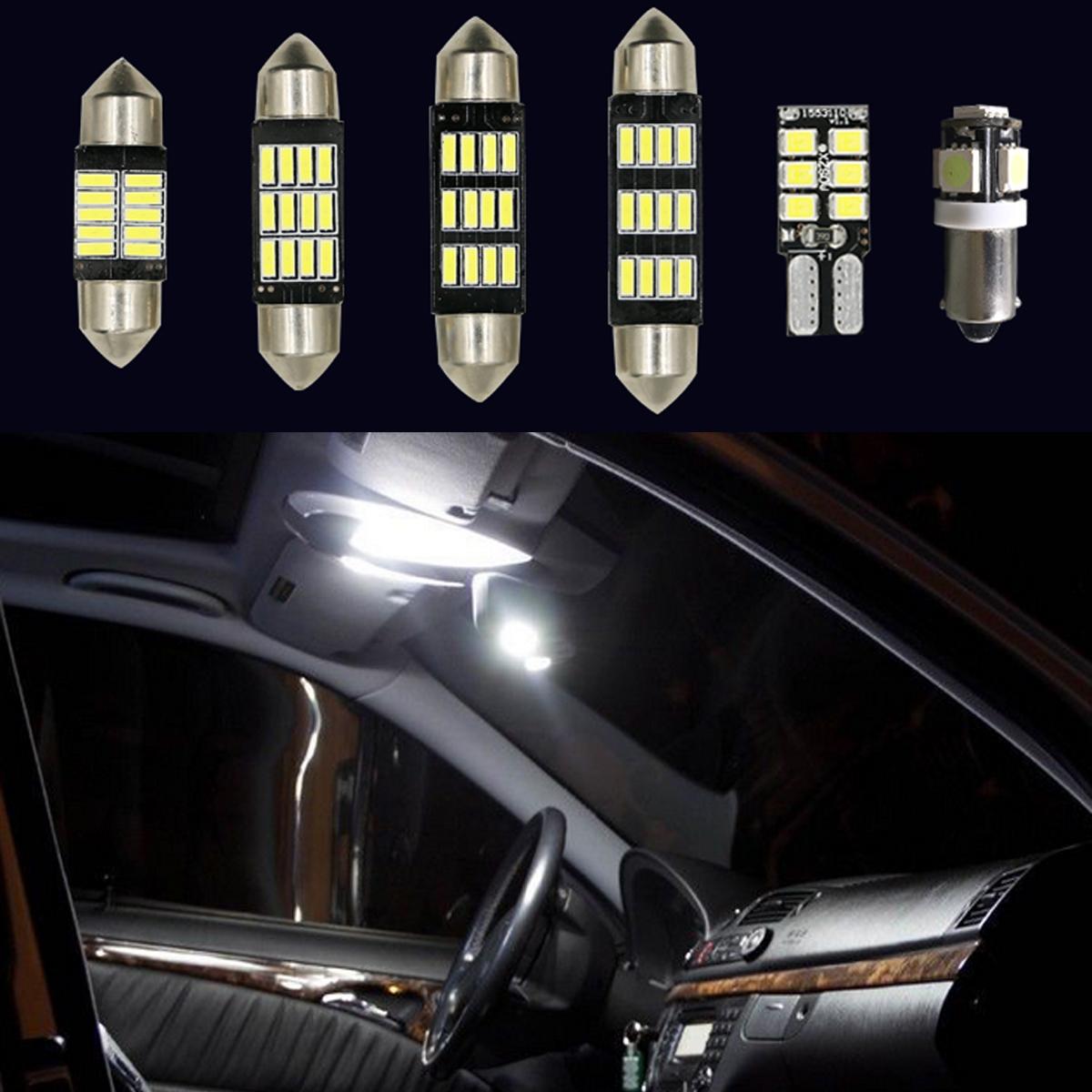 U 13Pcs Voiture Intérieur Ampoule LED Pour VW Golf6 MK6 GTI 2010 ...