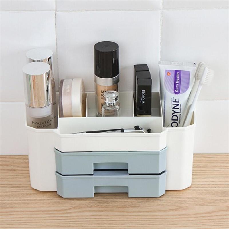 UNIQUE V Boîte de Rangement Maquillage Organisateur Tiroir Cosmétique Bijoux pour Maison Chambre ...