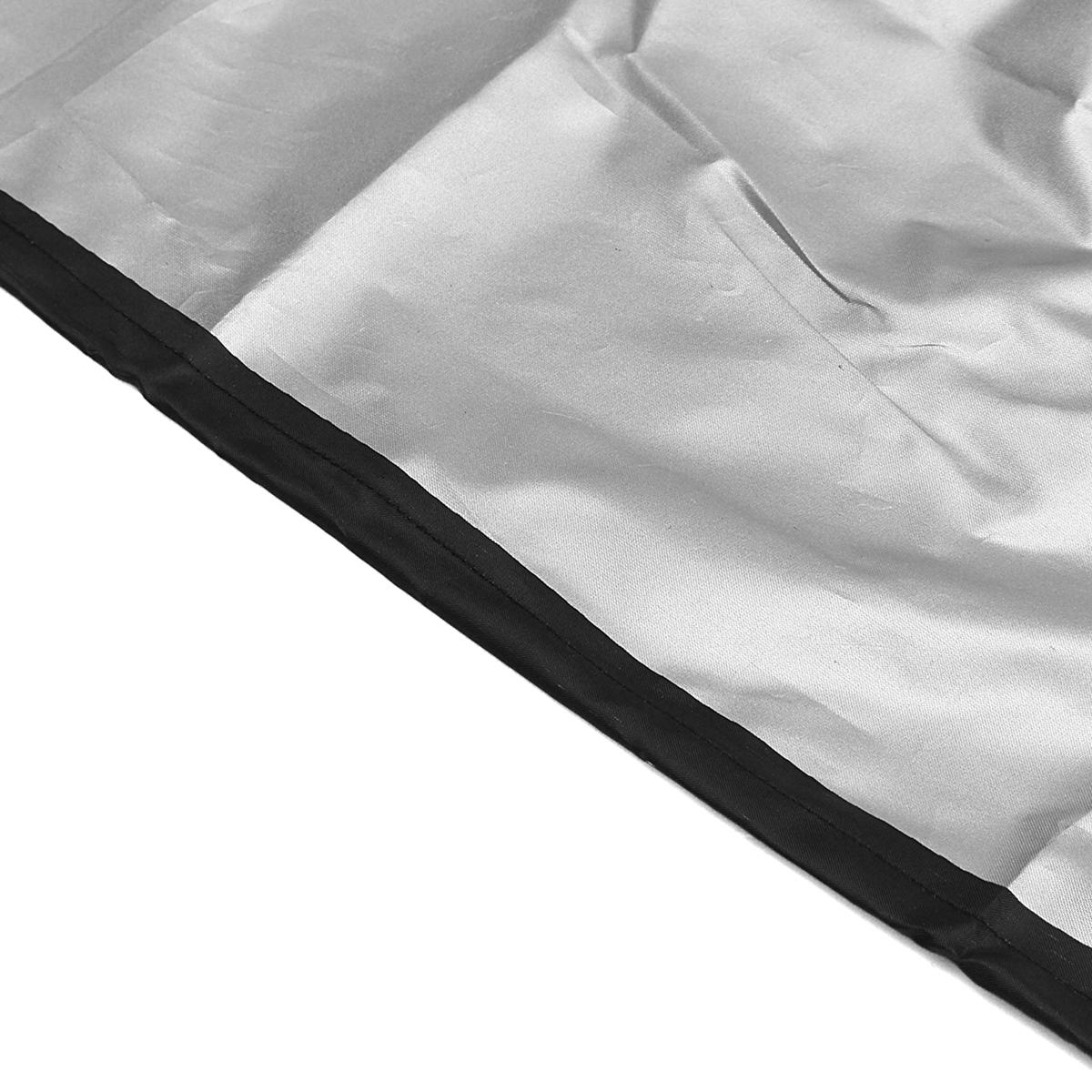 TEMPSA Housse De Protection Étanche Pour Meubles de Jardin Table Banc Extérieurs Bâche Couvercle Noir 210*140*80cm