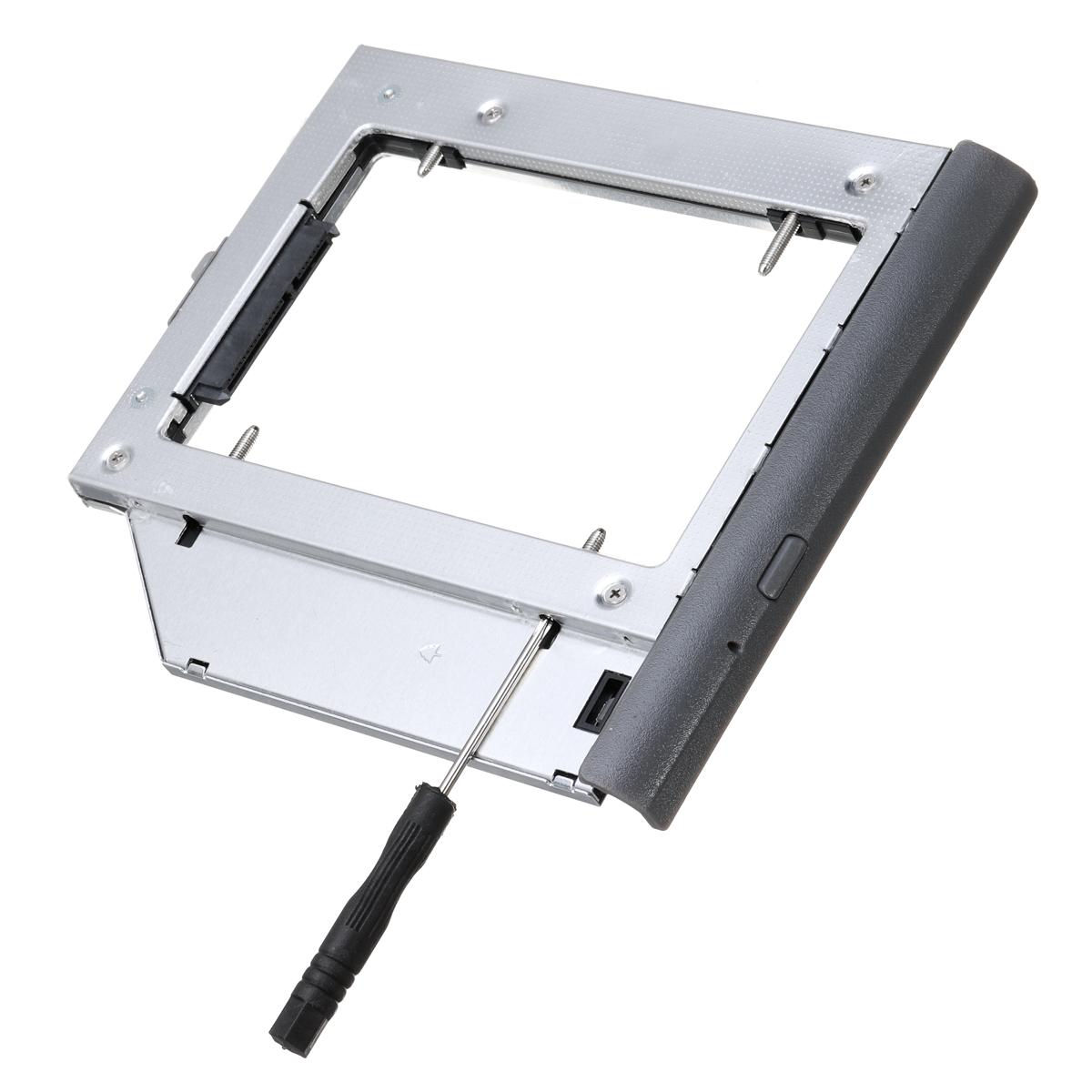 Notebook Optical CD-Rom Hard Drive Bay Caddy Case For Lenovo ideapad 320  330 520