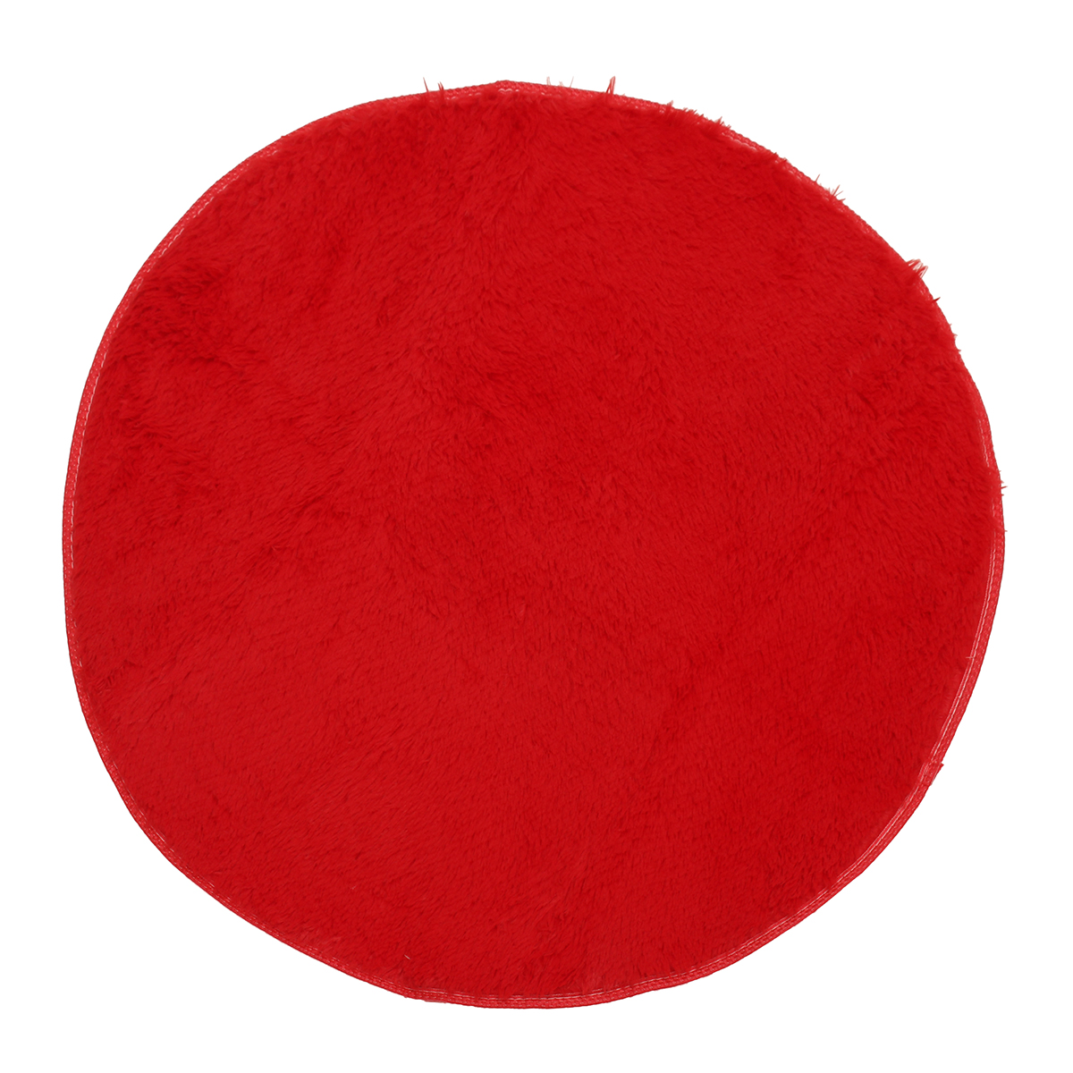 tempsa tapis rond rouge peluche anti d rapant pour salle de bain chambre 120cm achat vente. Black Bedroom Furniture Sets. Home Design Ideas