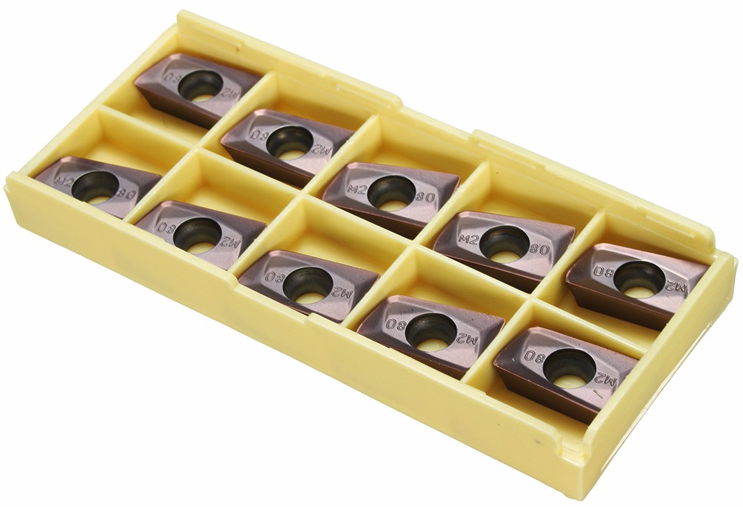 Drillpro 10Pcs 25R0.8 Indexable Insert APMT1604PDER-M2 VP15TF Carbide Inserts CNC Nc Tool