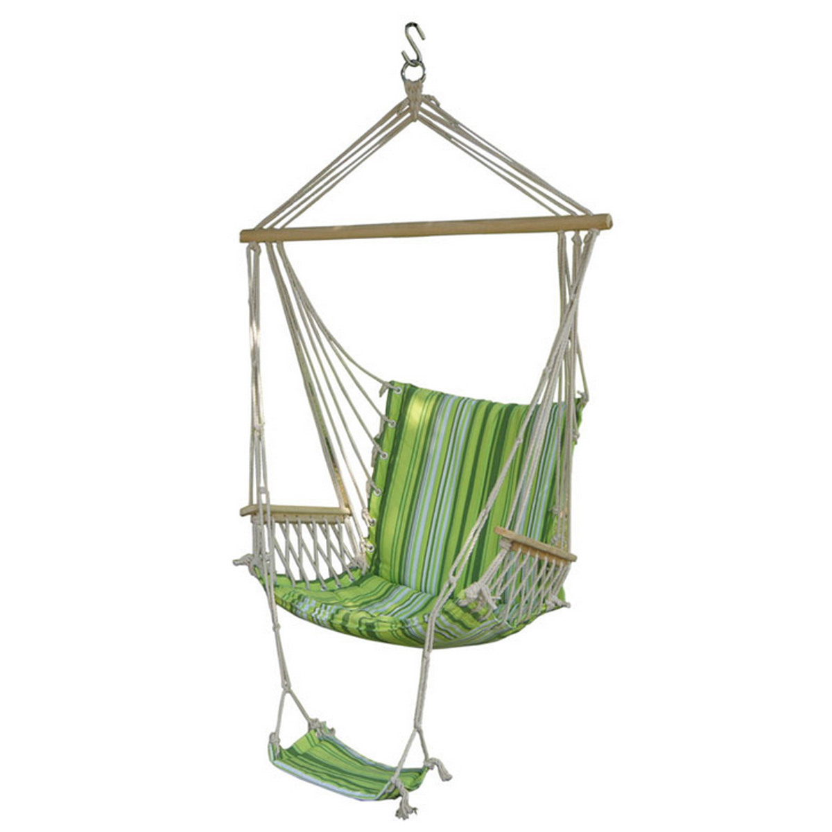 hamac balan oire suspendu chaise ext rieure jardin cour patio 330lbs max achat vente hamac. Black Bedroom Furniture Sets. Home Design Ideas