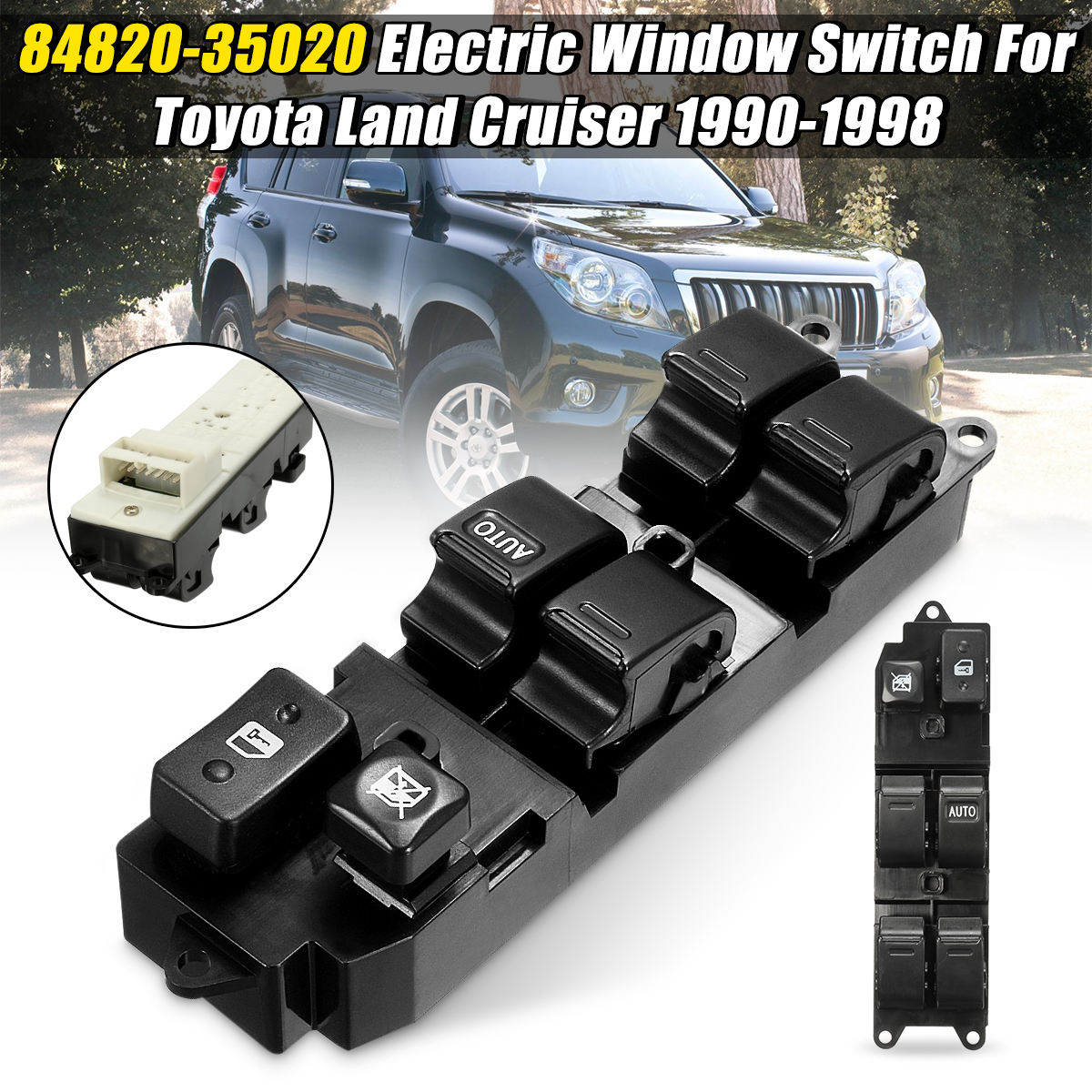 Mitsubishi Carisma DA électrique interrupteur lève vitre avant droite NEUF