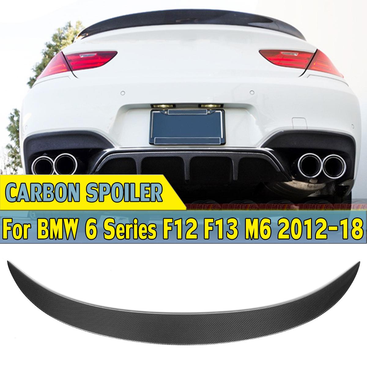 POUR BMW F06 Gran Coupé Série 6 Arrière Coffre Trunk Spoiler Lèvre aile garniture couvercle M6 M