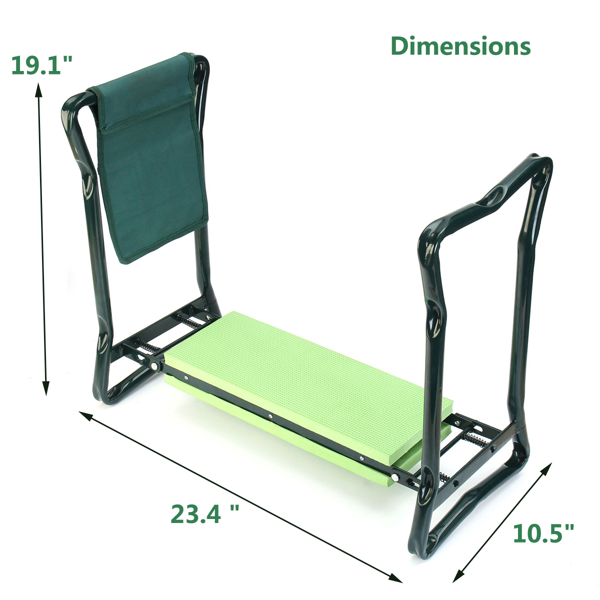 tempsa agenouilloir jardinage tabouret chaise genou banc si ge pliable avec sac achat vente. Black Bedroom Furniture Sets. Home Design Ideas