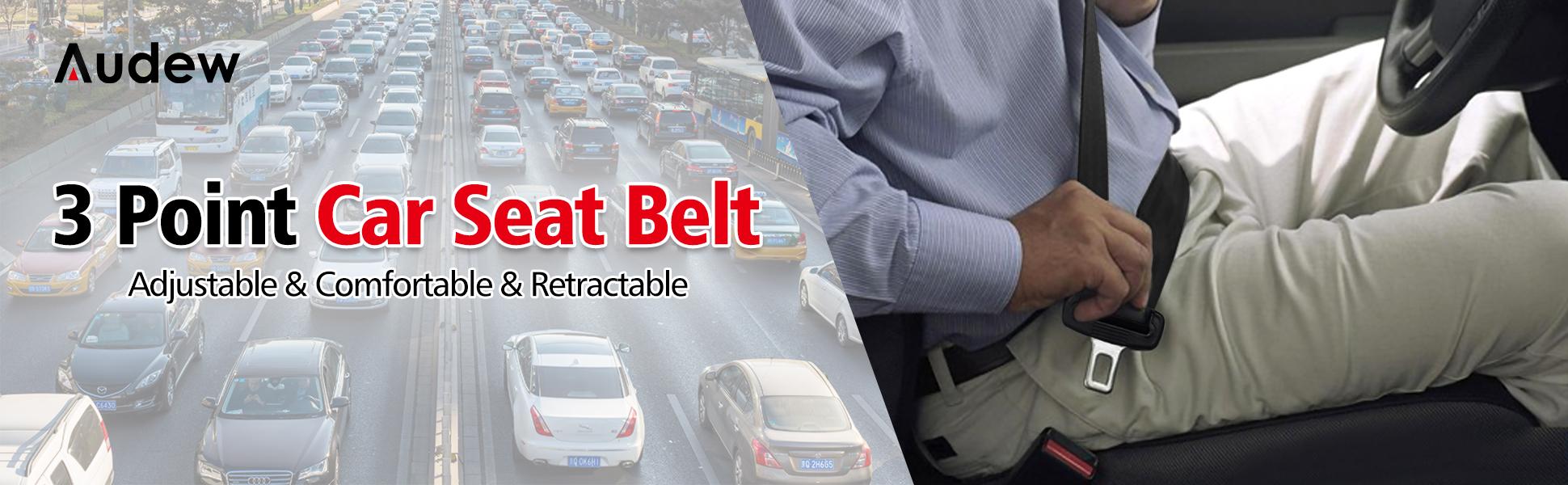 Hzs General Purpose Three-Point Seat Belt Truck Passenger car Side Insert Three-Point Seat Belt car Seat Belt Driver Seat Belt