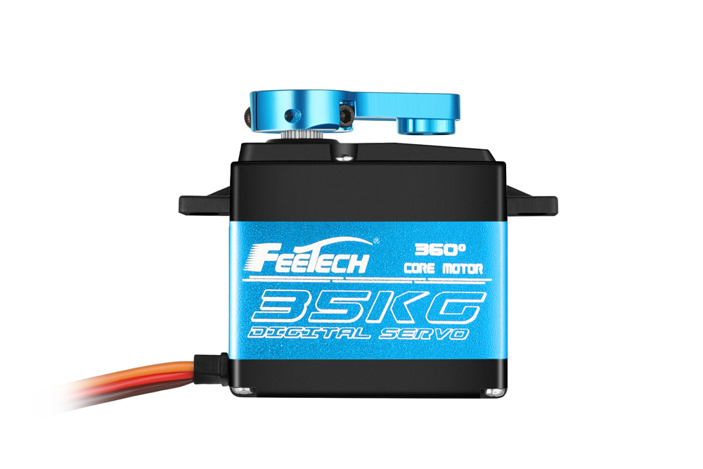 FEETECH FT6325M FT6335M Digital Servo 7.4V 25kg.cm /35kg.cm 360 Degree Magnetic Steel Gear RC Servo