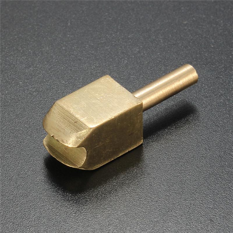 Латунный наконечник паяльника для обжигания и украшения краев