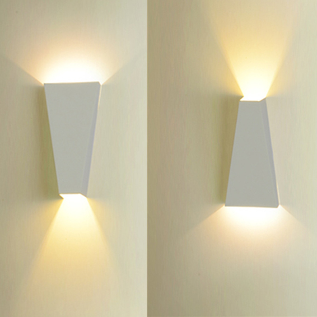u applique lampe murale led luminaire d cor int rieur blanc chaud blanc achat vente u. Black Bedroom Furniture Sets. Home Design Ideas