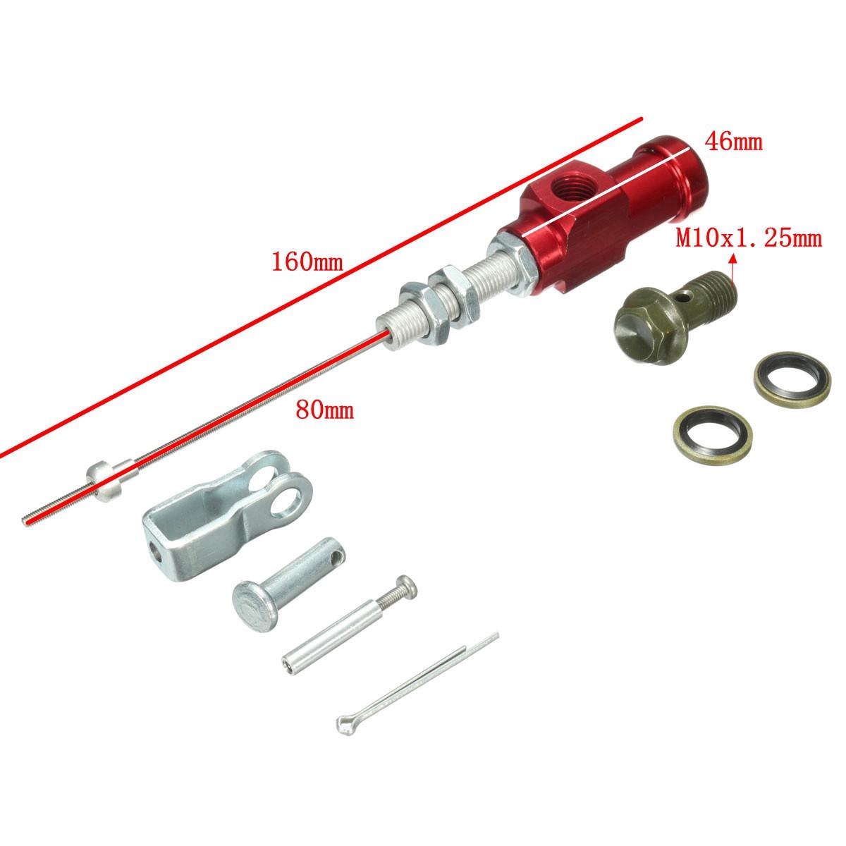 neufu pompe de frein embrayage hydraulique moto rouge achat vente maitre. Black Bedroom Furniture Sets. Home Design Ideas