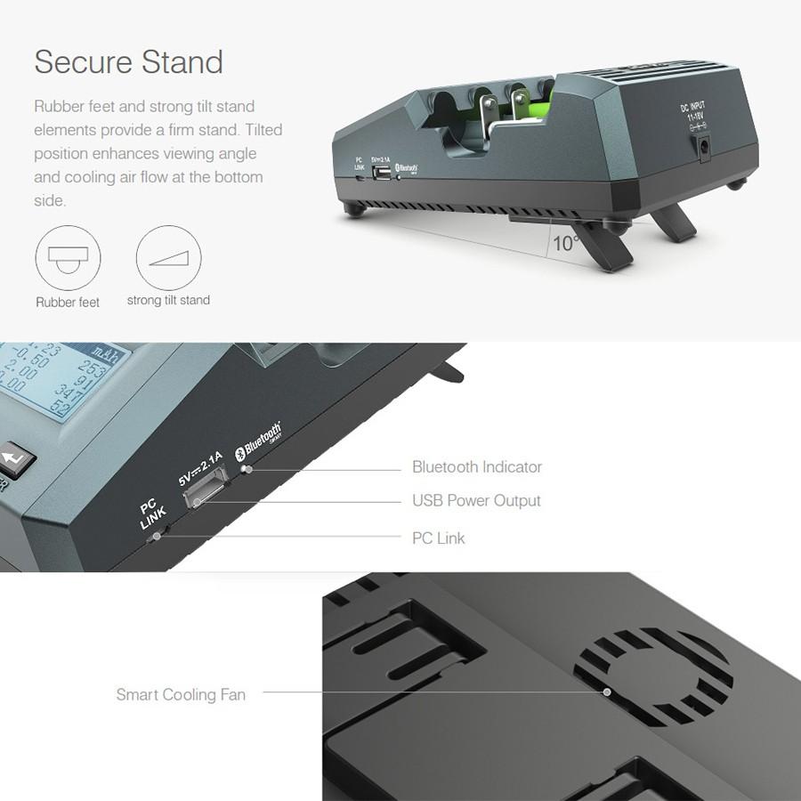 Умная электроника Многофункциональный весовой зарядное устройство SK-100083 SkyRC MC3000 (Фото 3)