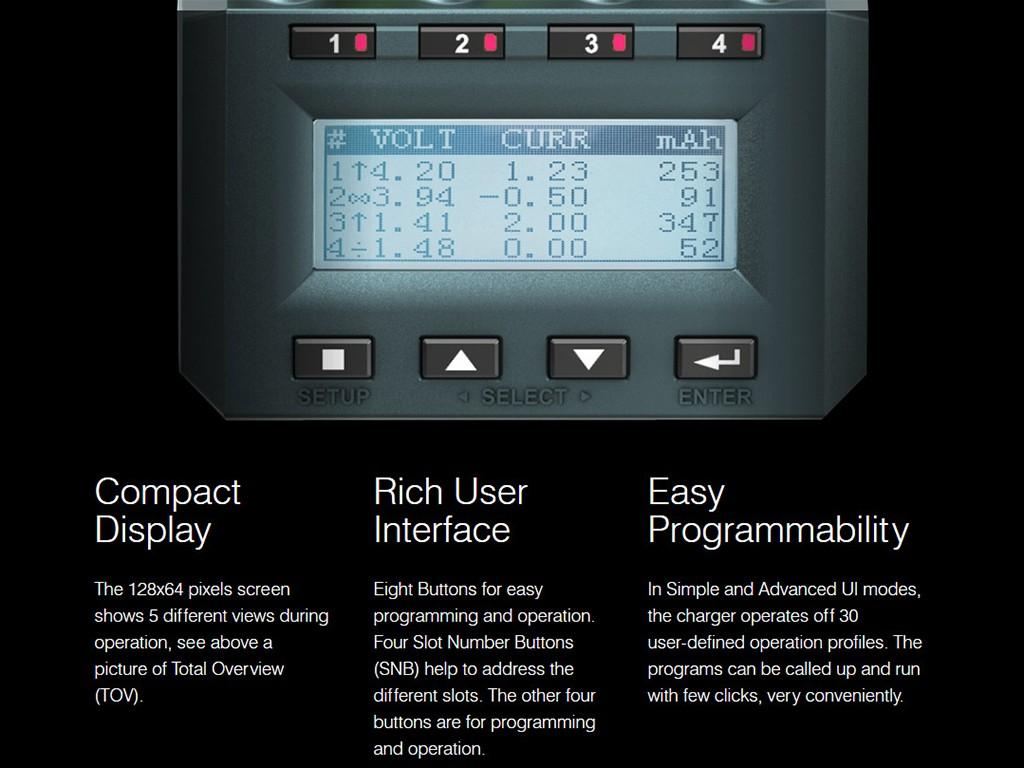 Умная электроника Многофункциональный весовой зарядное устройство SK-100083 SkyRC MC3000 (Фото 2)