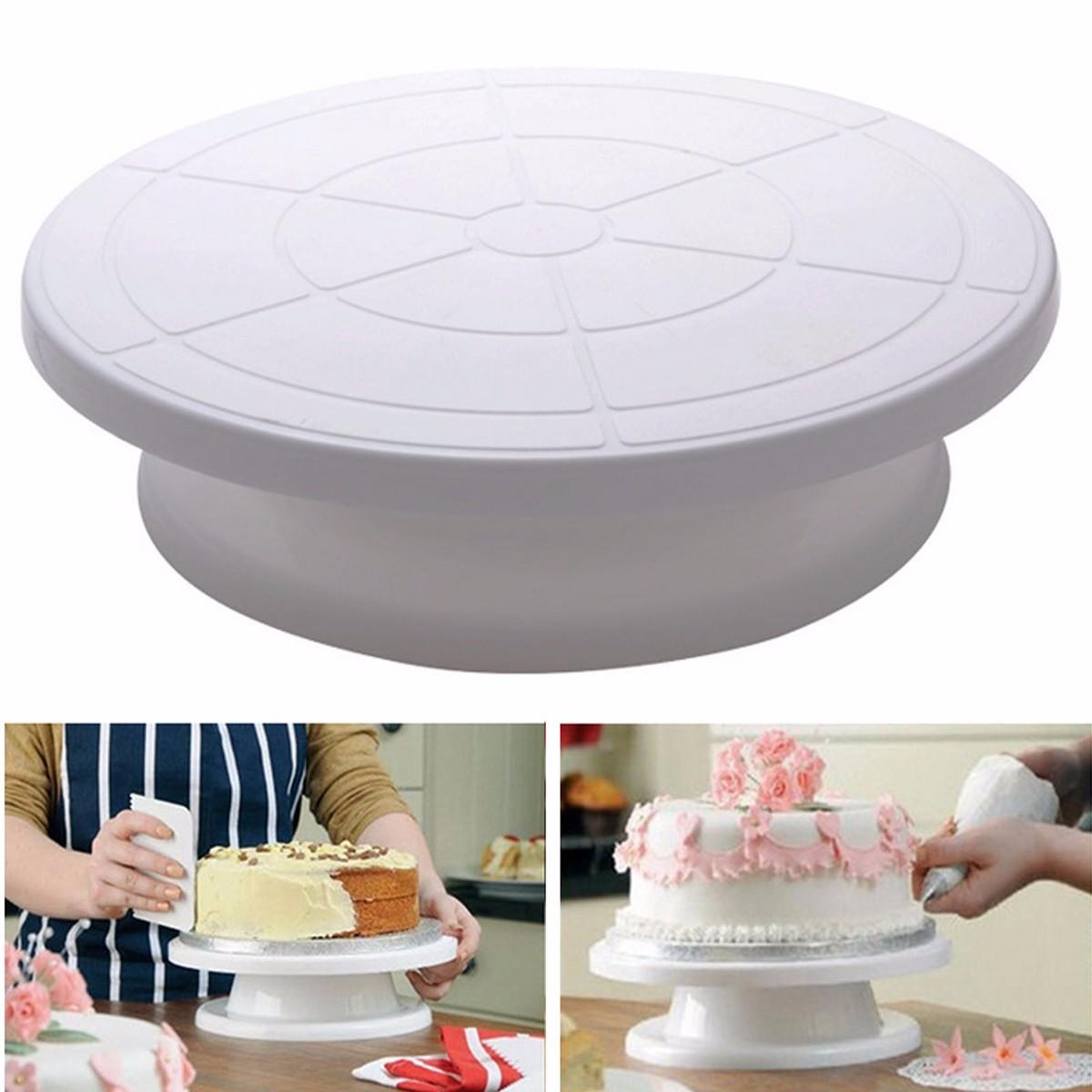 Kitchen Design Cake: 28cm Kitchen Cake Decorating Icing Rotating Turntable