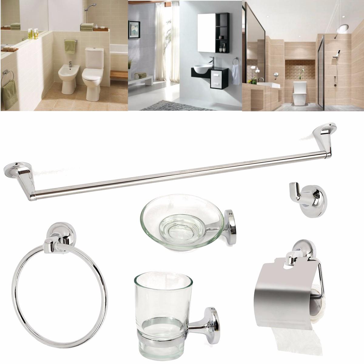Accessoires Salle De Bain Bathroom ~ salle de bains wc sets accessoires verre porte serviette savon