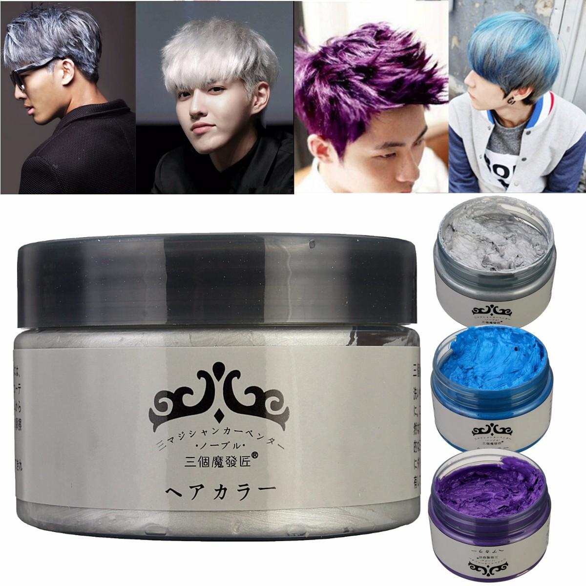 Cr me cire cheveux hairgum coloration gris tu achat vente cire gel coiffant cr me cire - Colorant pour huile de lin ...