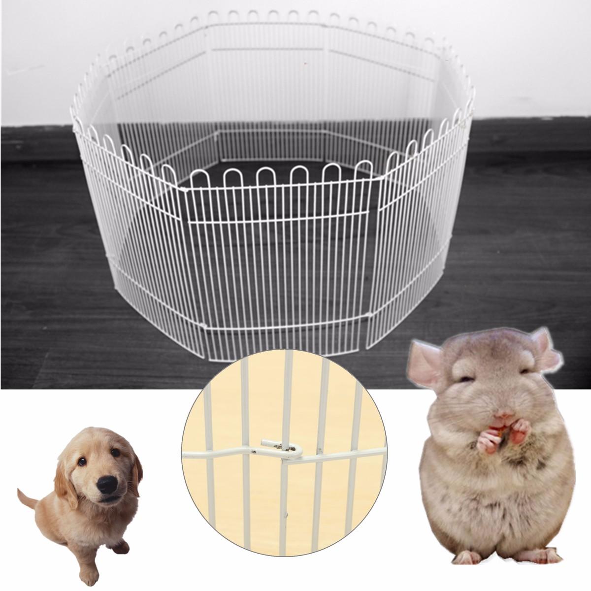 TEMPSA Pliable Métal Clôture de Jardin Maison Portail Cage d\'animal ...