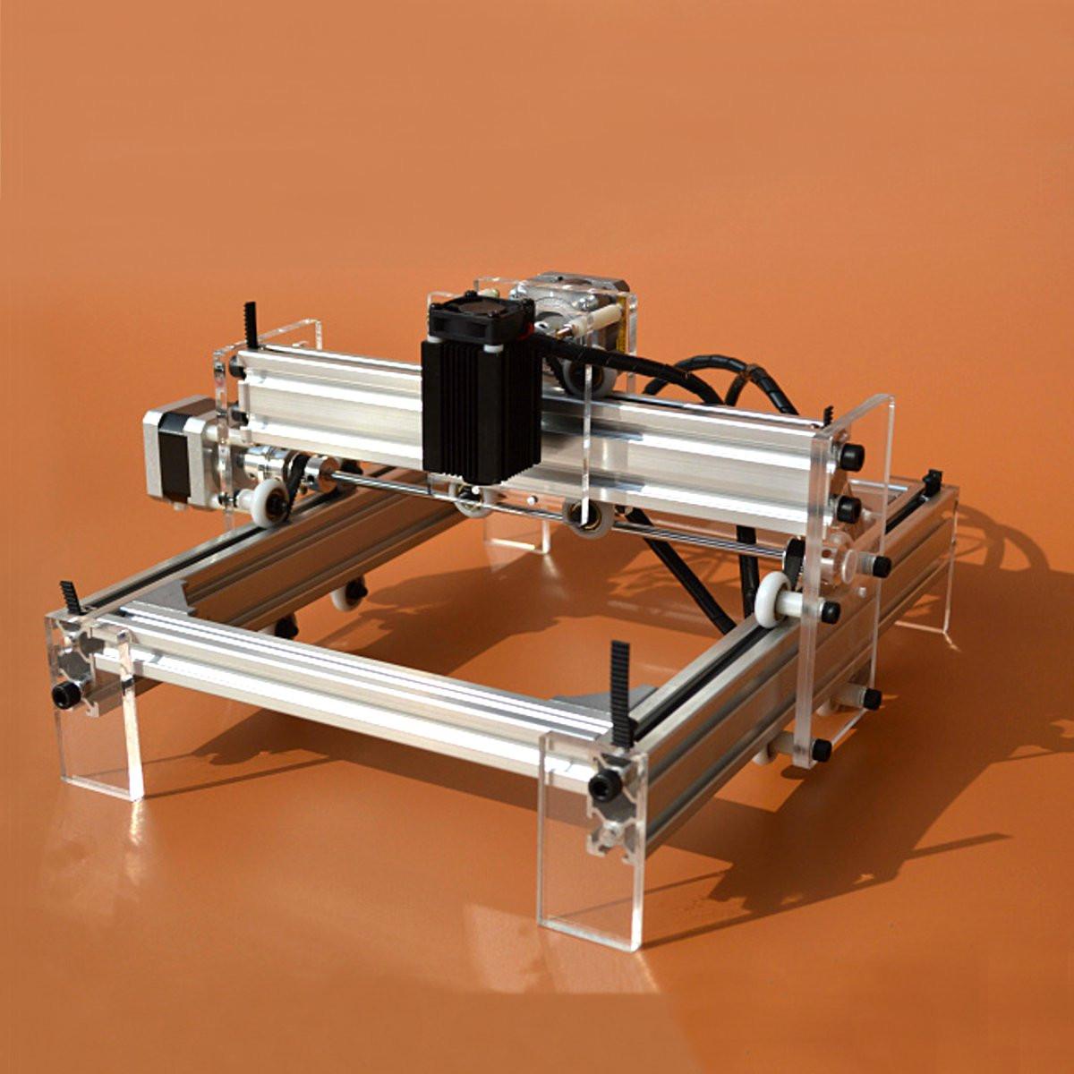 500MW Mini Laser Cutting Engraving Machine Printer Kit