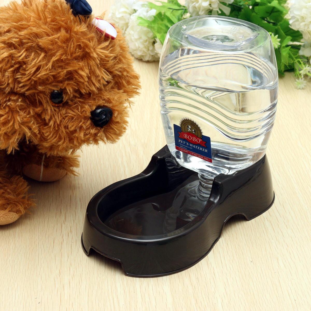 950ml Pet Dog Cat Large Automatic Waterer Drink Dispenser