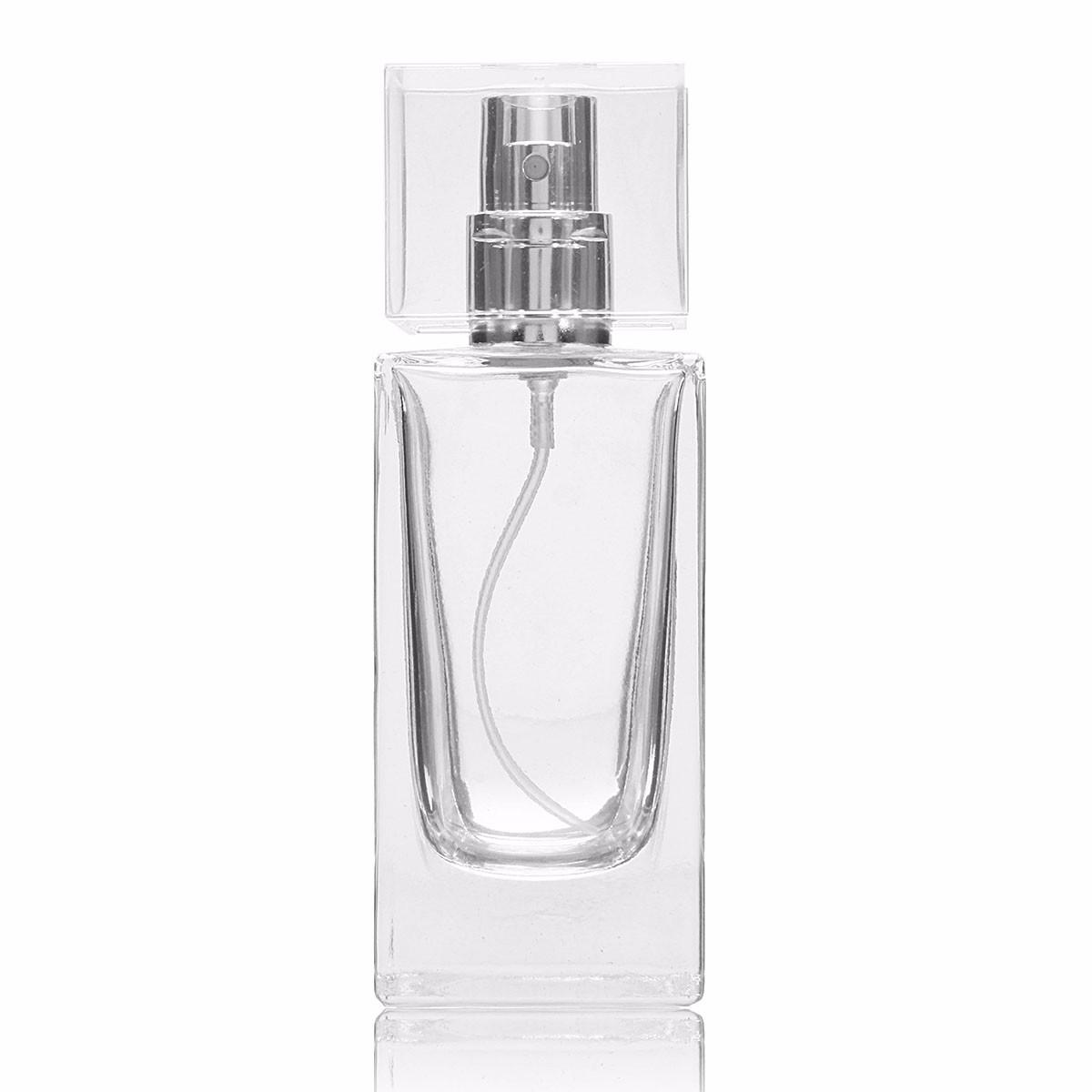 Top 50ml Flacon Bouteille Parfum Cristal Verre Vaporisateur Atomiseur  CO44