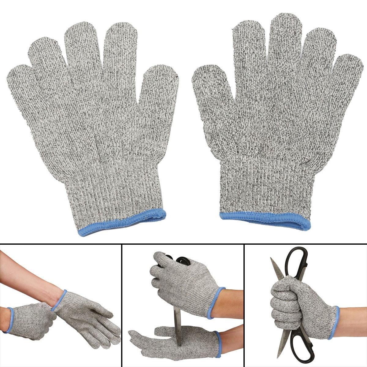 1 Pair Cut Resistant Gloves NoCry High Performance Level 5 Protection Anti  Slash | PrestoMall - Work Safety Equipment
