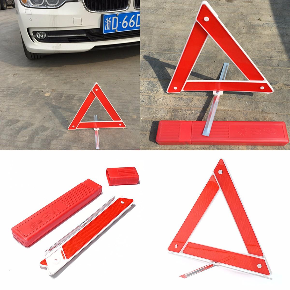 kit auto triangle voiture portable signalisation alarme r fl chissante s curit achat vente. Black Bedroom Furniture Sets. Home Design Ideas