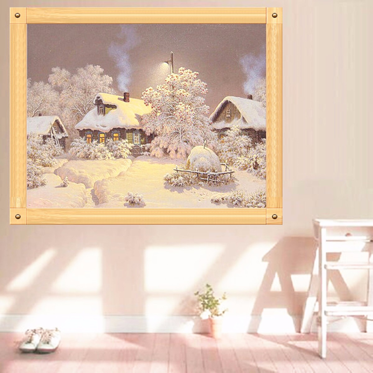 5d Diamond Painting Ice Snow Cross Stitch Kit Diy Embroidery Craft Home Decor Intl Lazada