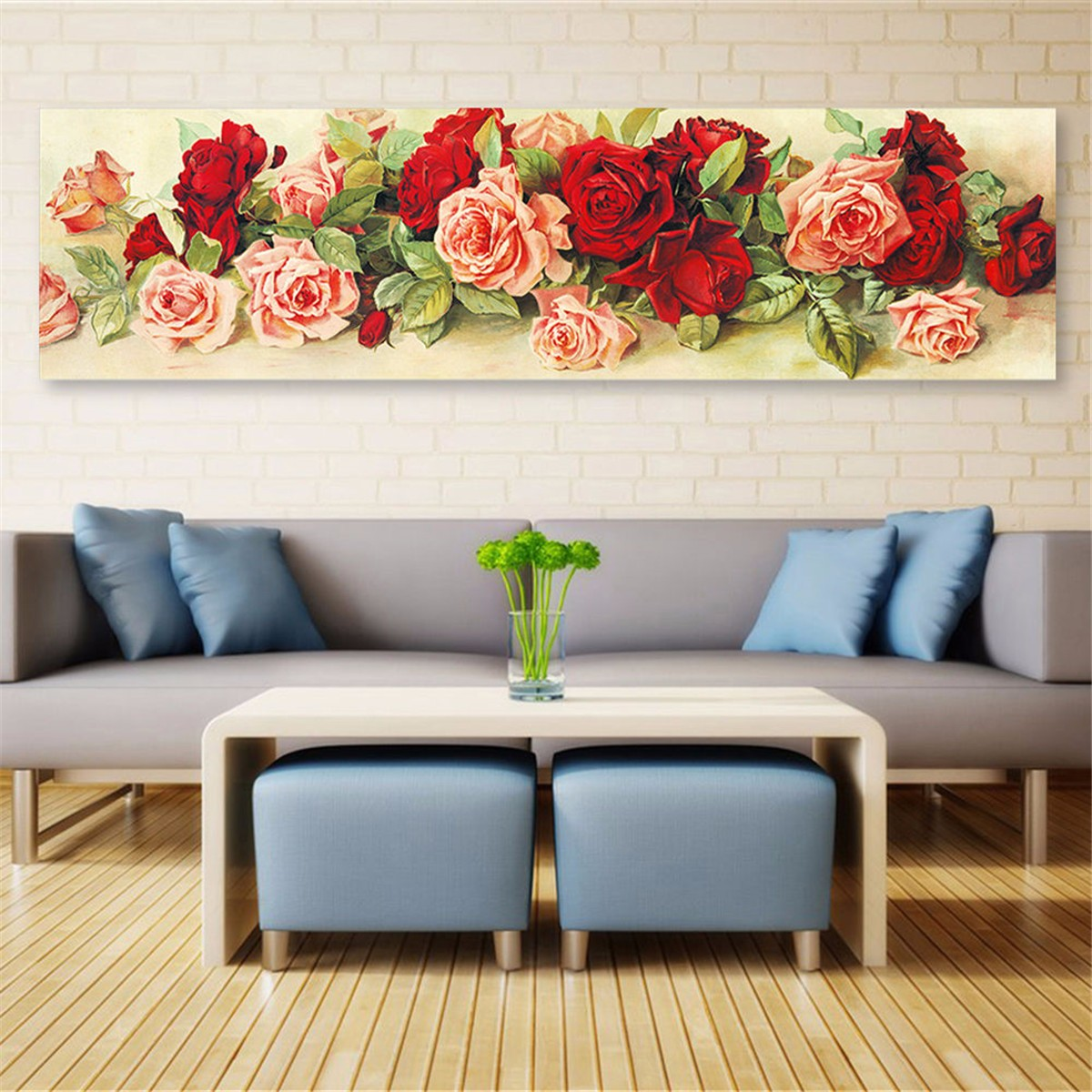 5d diamond embroidery painting rose flower cross stitch for Home decor 5d