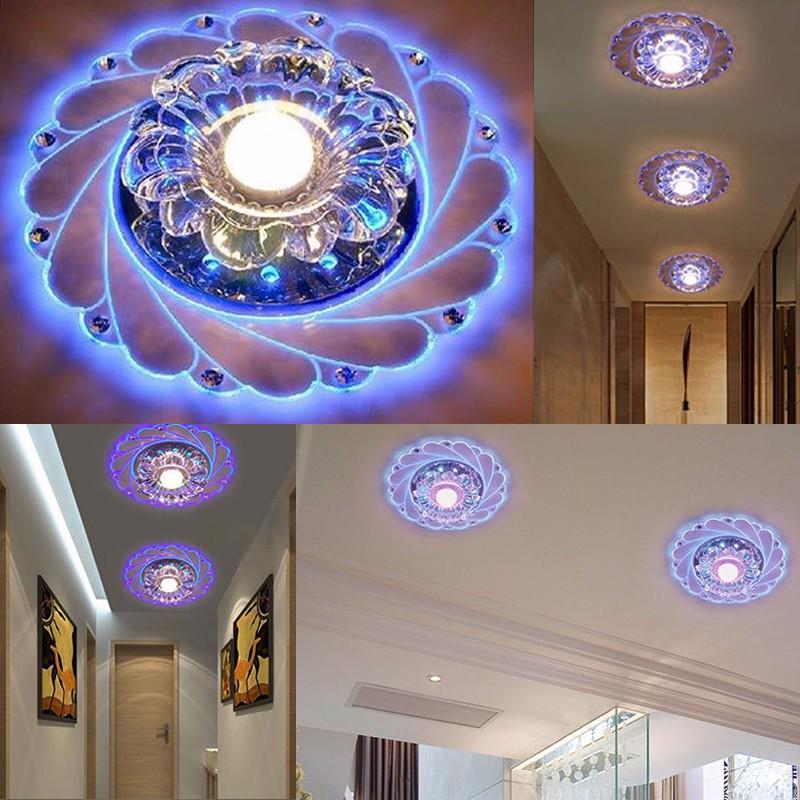 plafonnier led cristal lumi re moderne lustre light. Black Bedroom Furniture Sets. Home Design Ideas