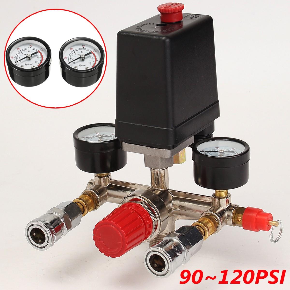 tempsa compresseur d 39 air pressostat pompe valve r gulation pression contr le jauge achat. Black Bedroom Furniture Sets. Home Design Ideas