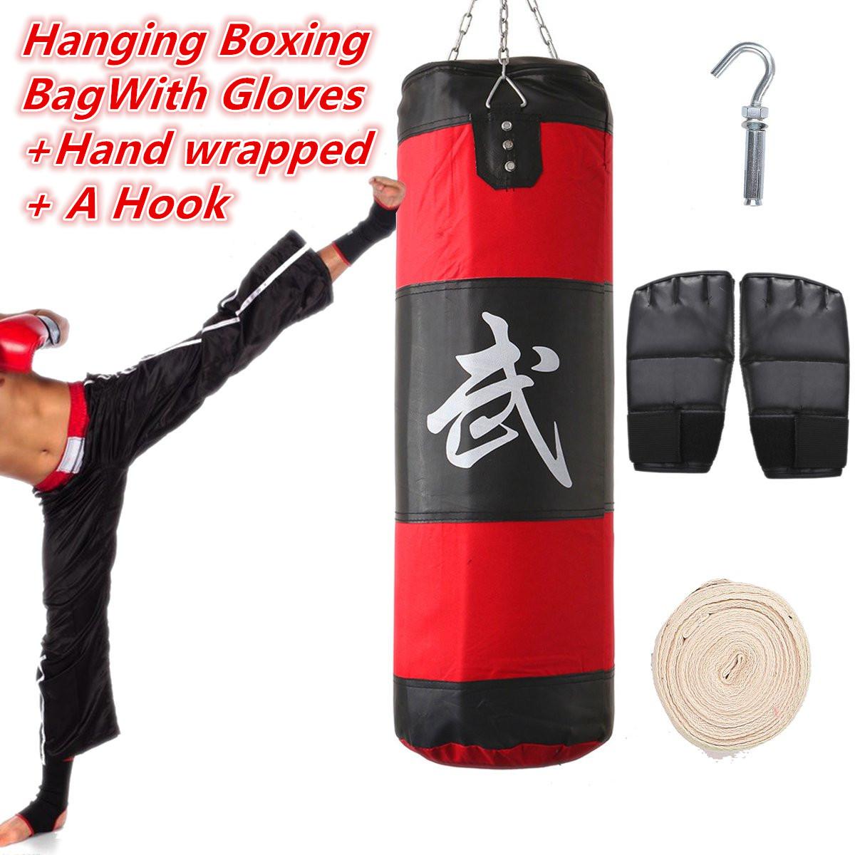 sac de frappe boxing sport fitness combat punching boxe. Black Bedroom Furniture Sets. Home Design Ideas