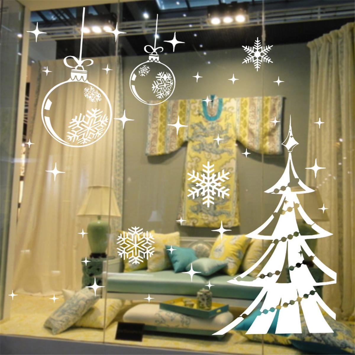 Deco vitrine magasin noel for Deco promo