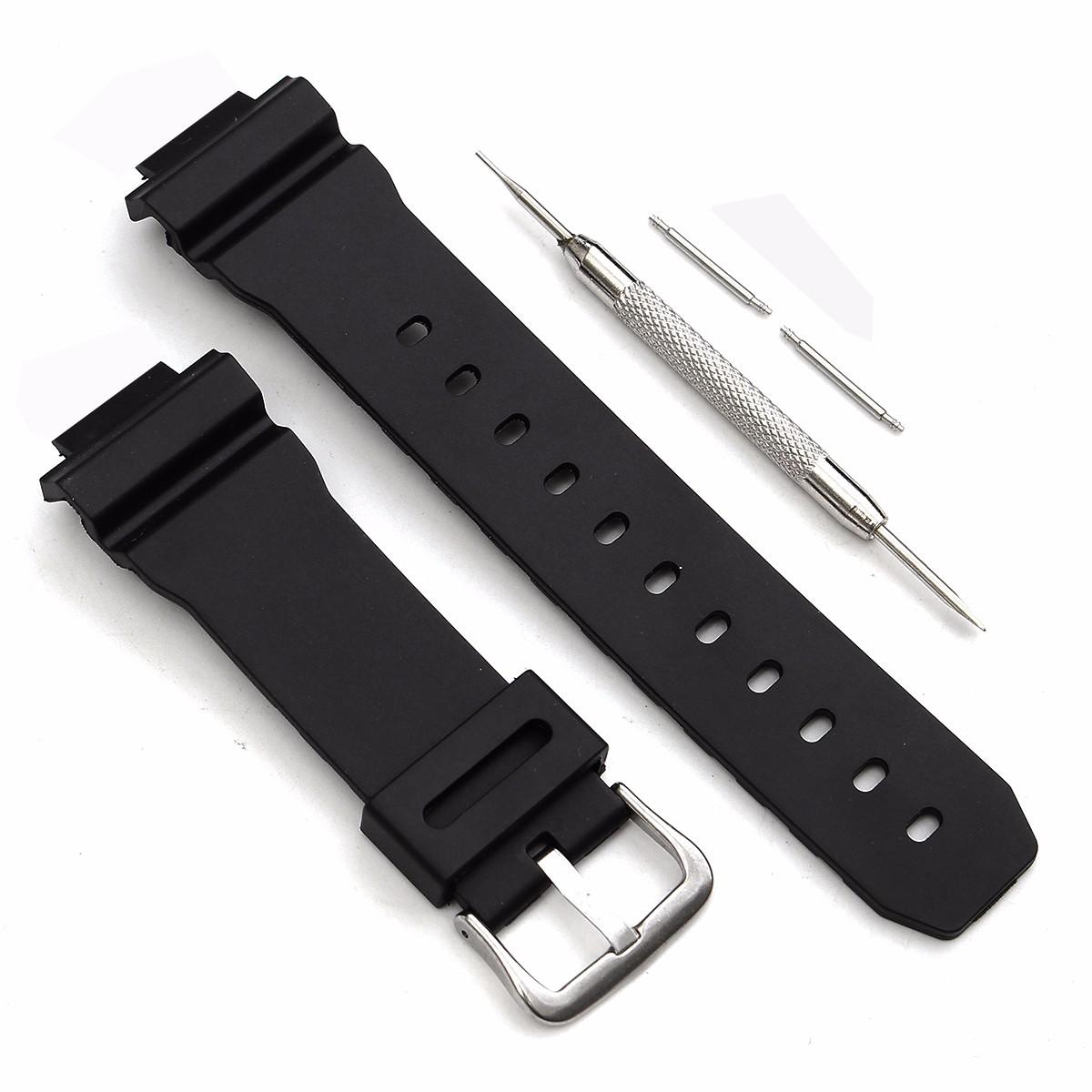 Умные часы Сменный ремешок J3 для часов Casio G Shock DW-6900 с иголкой и шпильками (Фото 3)