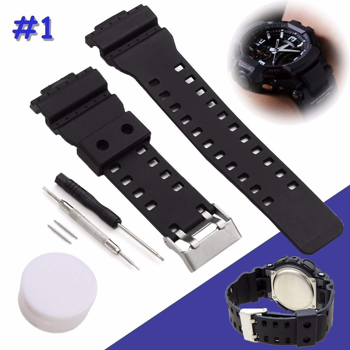 bracelet montre casio 18 mm