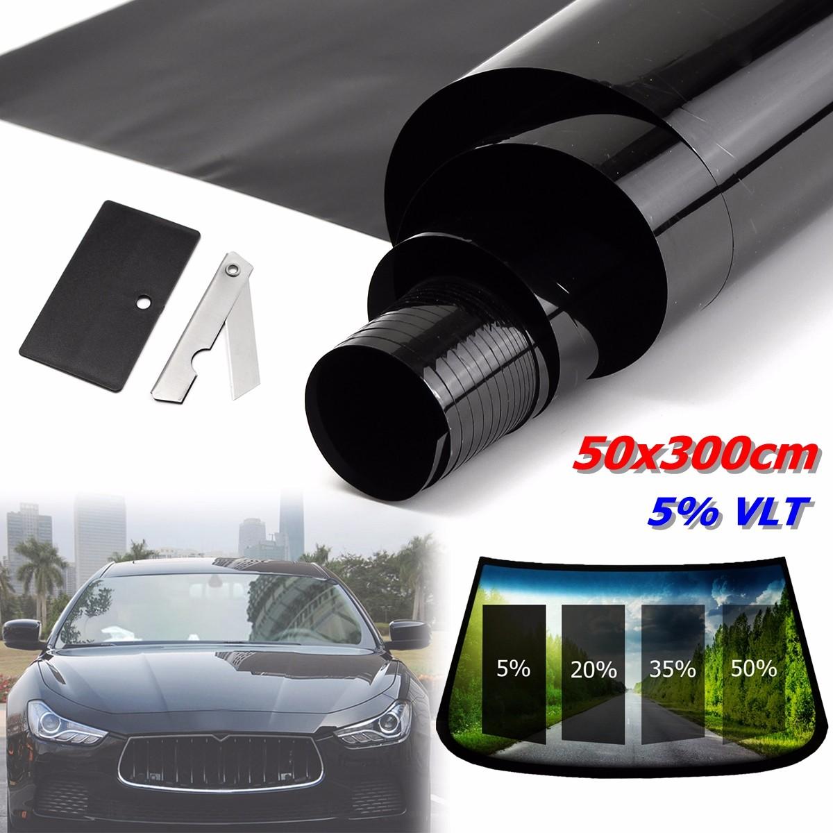 50cmx3m film teinte solaire noir pour vitre fen tre velux voiture batiment 5 achat vente. Black Bedroom Furniture Sets. Home Design Ideas